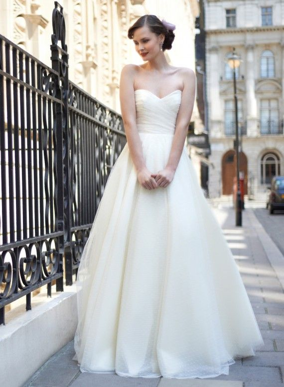 Allie by Stephanie Allin has arrived at JJ Kelly Bridal! Please schedule your appointment to see it today! www.idoappointments,com