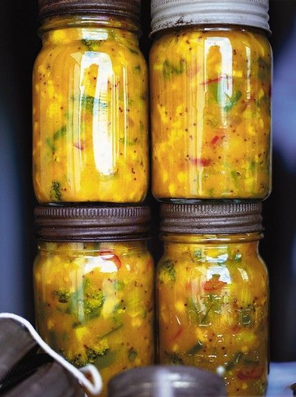 This is the best piccalilli recipe ever; pile it onto your plate with a ploughman's or spice up ham and colcannon with a generous dollop.