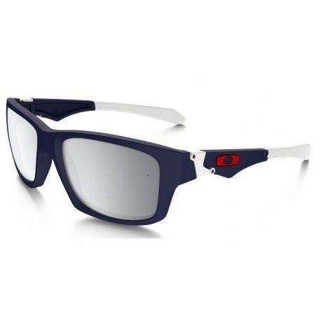 Oakley Jupiter Squared Men's Sunglasses - Matte Navy w/ Chrome Iridium Lens
