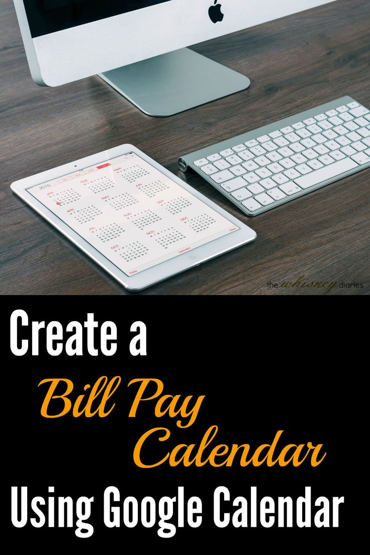 Create a Bill Pay Calendar with Google Drive. FINALLY! An easy, automated why to see when everything is due during the month.