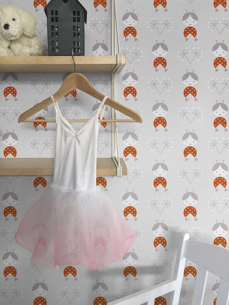 Zofka grey wallpaper / lavmi