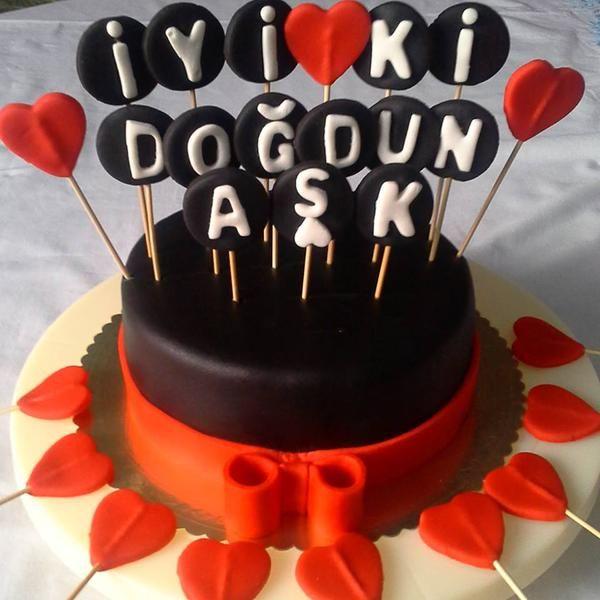 Özel Sipariş Doğum Günü Pastası www.pastacibaci.com