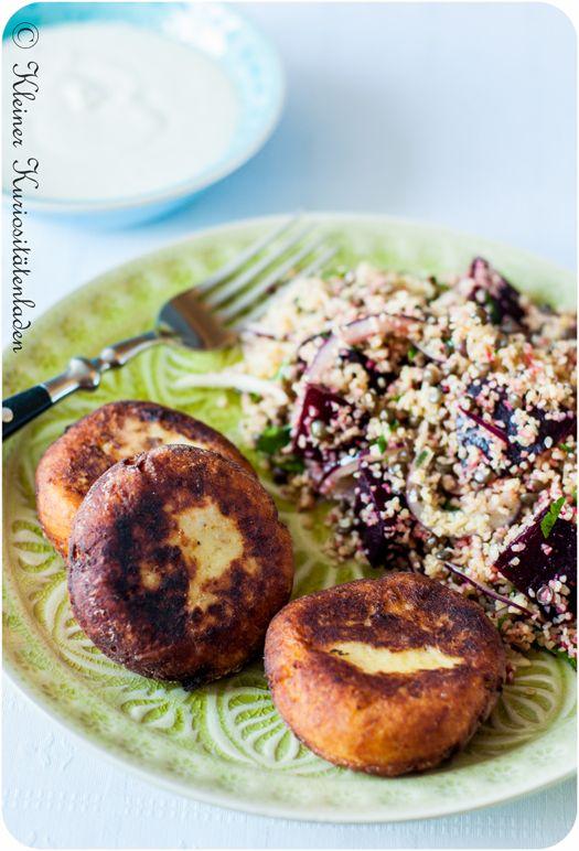 Batata Charp ~ Kartoffelk�chlein mit Fleischf�llung