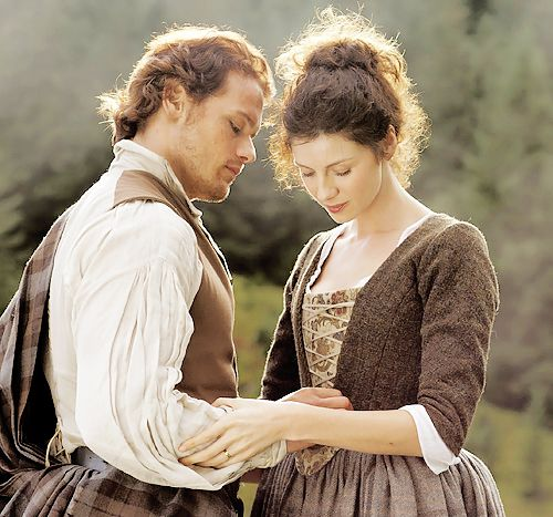Take me to Lallybroch • outlander-news: Sam Heughan and Caitriona...