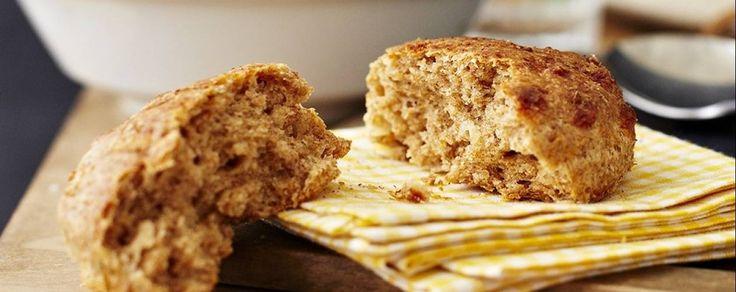 Tasty cheesy wholemeal scones