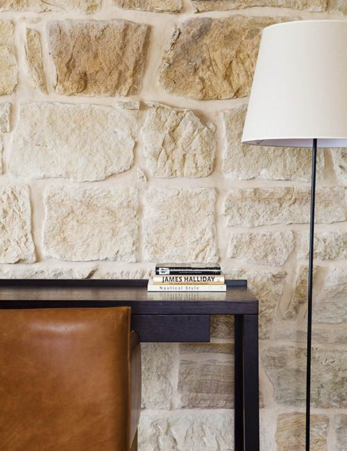 BALMAIN WHARF APARTMENTS | alwill  #lamp #desk #interiors #sandstone