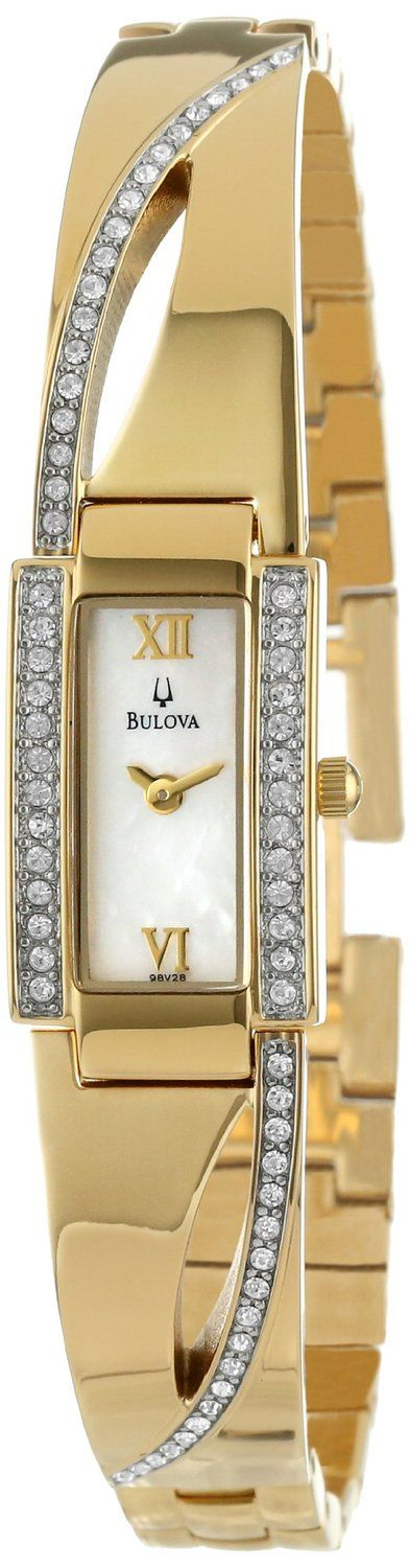 Gold watches for women Bulova
