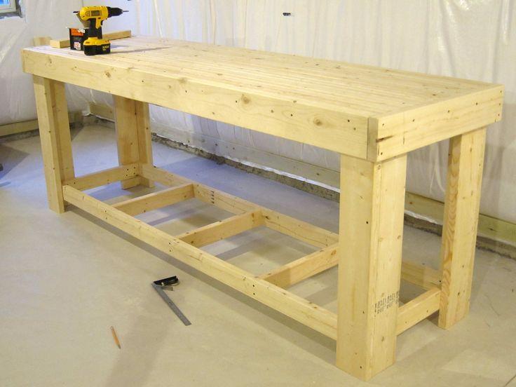 Best 25+ Wooden work bench ideas on Pinterest | Outdoor ...