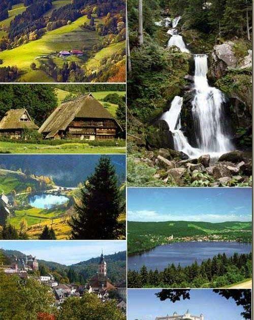 La Foresta Nera – Schwarzwald - Germania La Foresta Nera deve il suo nome alla sua foresta di abeti, si trova nel sudovest della German...