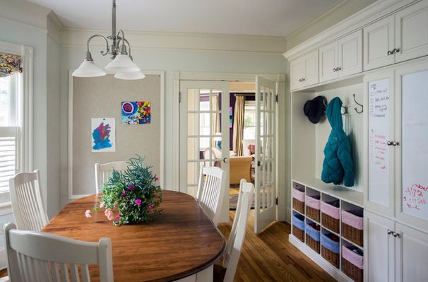 Dining Room Into Mudroom