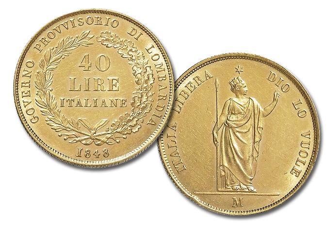 Il doppio marengo delle 5 giornate di Milano(1848)