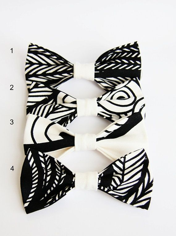 geometric black and white bow tie, mens bow ties, grooms bow tie, mix and match ties, bow tie set, wedding, gift, men gift on Etsy, $18.57