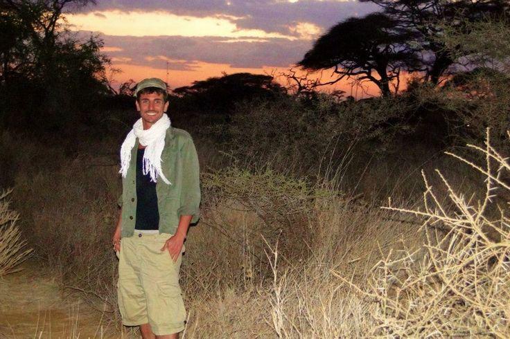 Moi au Kenya amboseli