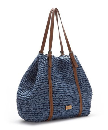 Take a look at this Azul Indra Tote by Abbacino Bags on #zulily today!