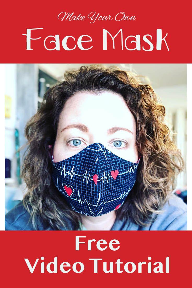 Face Mask Pattern In 2020 Face Mask Diy Face Mask Mask