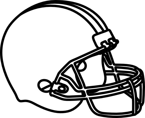 print football football helmet coloring pages printable coloring pages for kids - Printable Coloring Pages Football