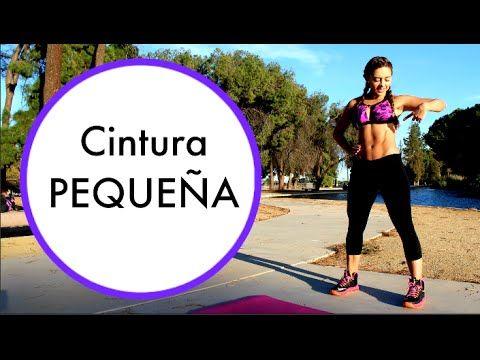 RUTINA BUENISIMA PARA CINTURA! (RELOJ DE ARENA) - YouTube