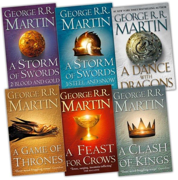 A Song of Ice and Fire by George R.R. Martin   The 51 Best Fantasy Series Ever Written