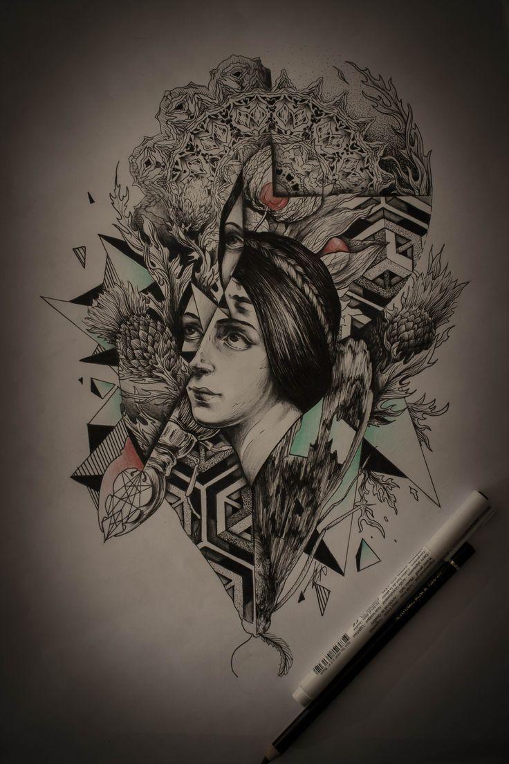 #Broslavskiy #sketches #lineart #tattoo