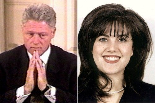 Monica Lewinsky and 1995 government shutdown