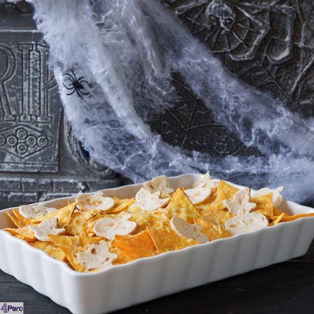Mexican chicken nacho casserole4Pure by Andrea