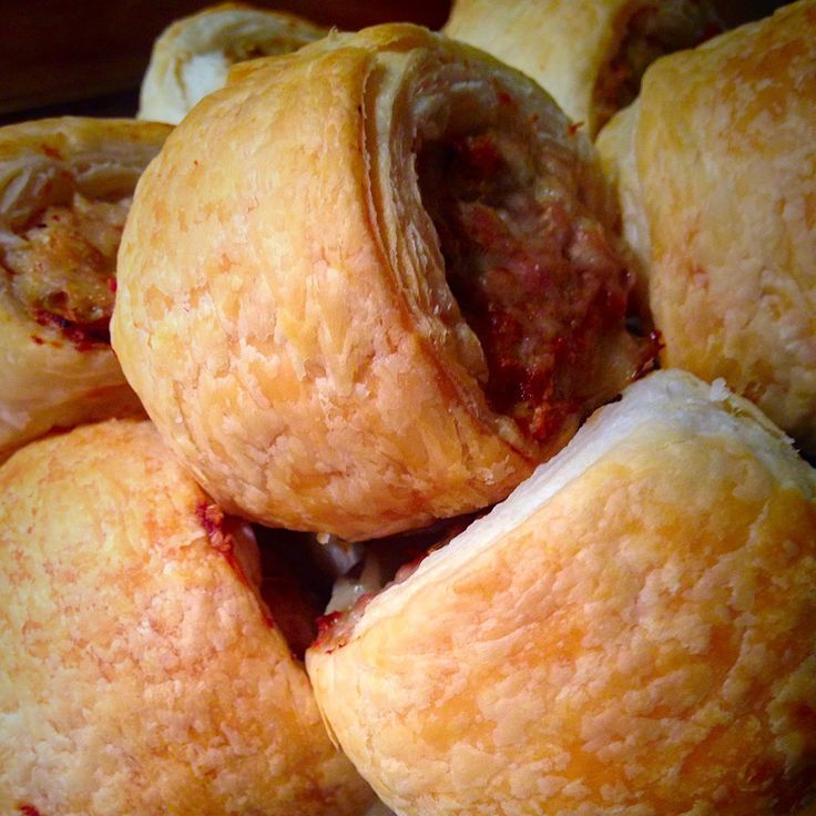Chicken & Fennel Seed Sausage Rolls