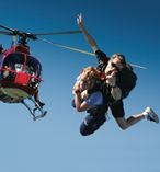 Sydney Sky Dive from a Helicopter! A brand new extreme experience for thrill seekers!