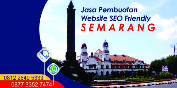 Jasa Pembuatan Website Semarang SEO Friendly
