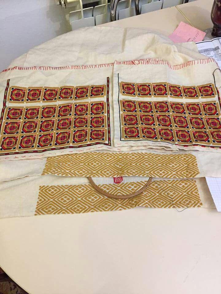 Romanian blouse in the making - Ilfov region  #semnecusuteinactiune