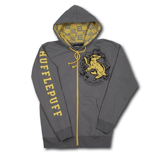 Hufflepuff™ Adult Hooded Sweatshirt! So buying this!