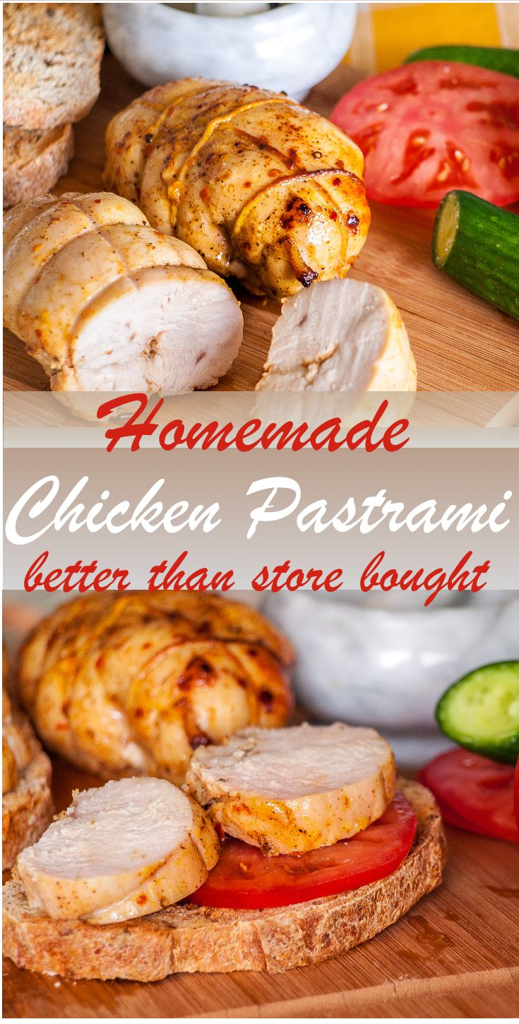 Jun 23, 2020 – This Homemade Chicken Pastrami recipe is unbelievably easy to prepare. It does take some time to marinade…