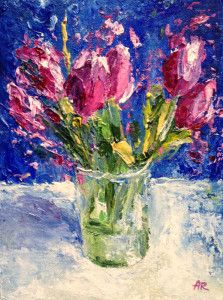 """Tulips"" by Alena Rumak"