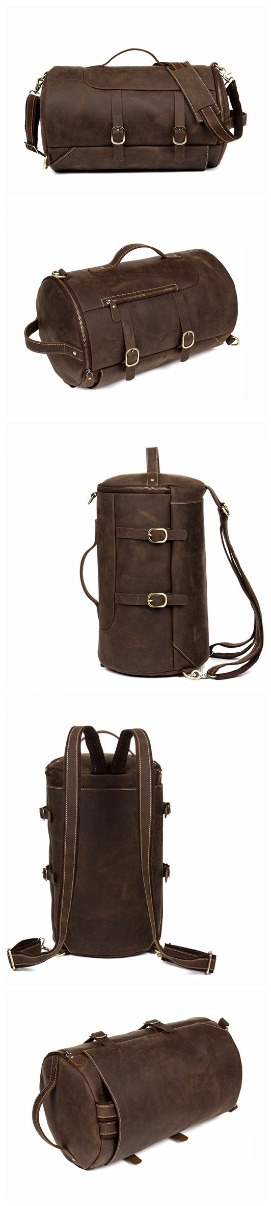 Handmade Designer Backpacks Mens Leather Backpack Rucksack