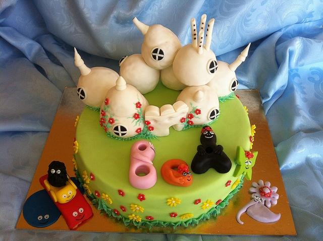 BARBAPAPA CAKE by Red Carpet Cake Design ® by Davide Francesca, via Flickr