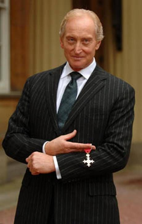 Charles Dance - Nice looking man,British actor, I really like his roles he plays.