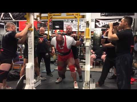 460kg/1,014.1lbs Raw Squat w/ wraps 3-28-15