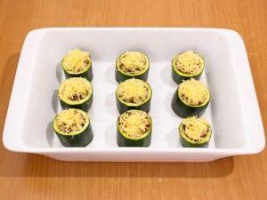 Beste Recepten Gevulde courgette met gehakt en champignons uit de oven | Beste Recepten