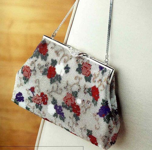 Схема сумок из бисера