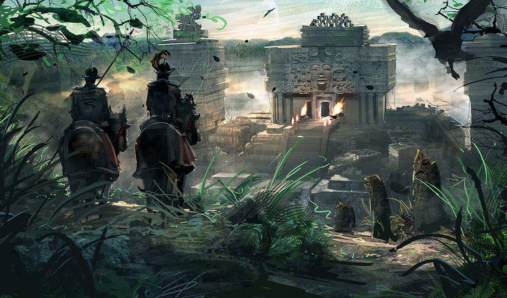 Conquistadors II by RhysGriffiths.deviantart.com on @DeviantArt
