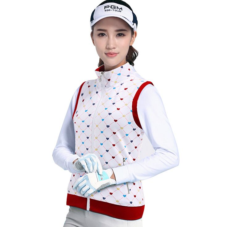 020216 Golf Clothing Coat Windbreaker Printed Golf Sports Vest Spring Autumn Women Sport Tennis Jacket Golf Wear Plus Size