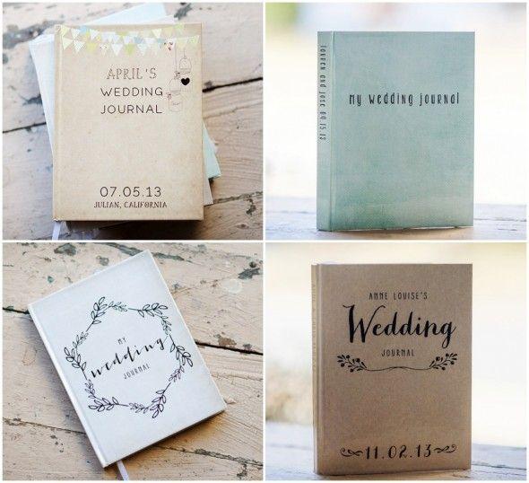 Personalized Wedding Journals
