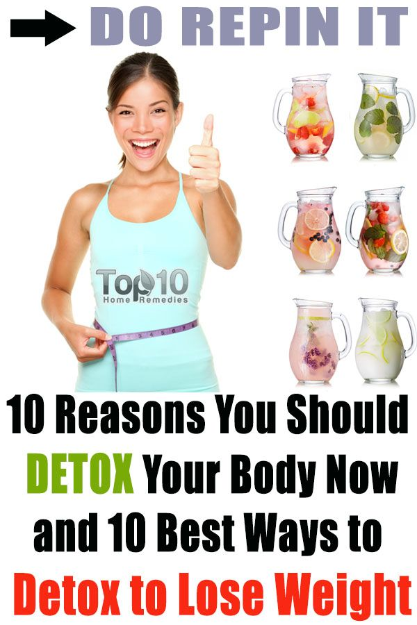 best detox weight loss program