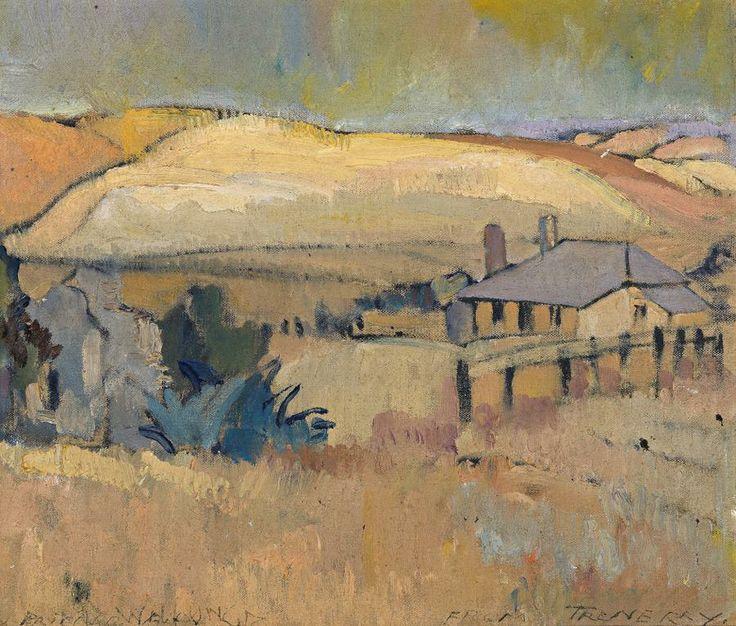 Horace Trenerry (1899-1958) - Cottage, Port Willunga, 1935