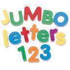 Jumbo Magnetic Numbers & Operations, Set of 36