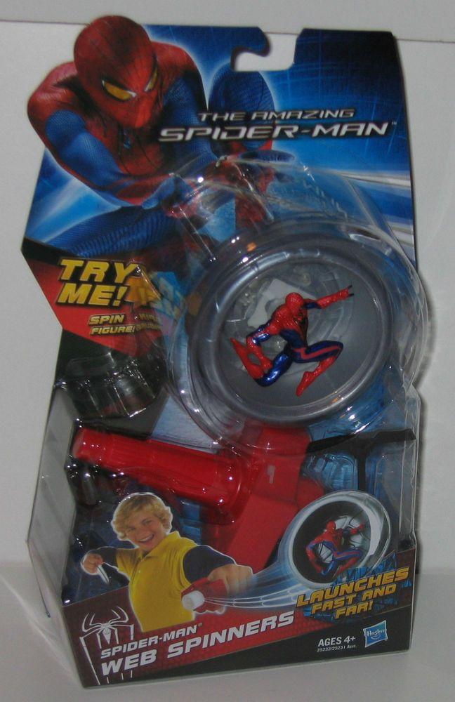 2012 The Amazing Spiderman Web Spinners launcher MOC! #Hasbro