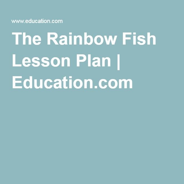 17 best images about teddy bear corner on pinterest for Rainbow fish lesson plans