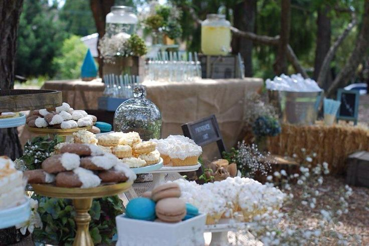 Farm Themed 1st Birthday Candy Buffet, Dessert Buffet and Drink Station styled by Sweet Soirees (www.sweet-soirees.com.au)