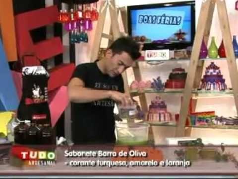Sabonete Barra de Oliva - YouTube