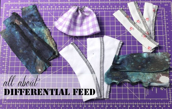 Learn more about your serger differential feed, how it works and how you can use differential feed to troubleshooting and for more creative sewing!