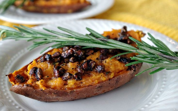 """Sweet potatoes – they aren't just for pie or the traditional casserole.I've rounded up15 unique recipes to expand your sweet potato horizon. Nachos? With sweet potatoes? Yep. Waffles? Check. Pizza??? Got that too. Click on the """"Launch Gallery"""" button to see 15 Mouth Watering Ways To Cook Sweet Potatoes."""